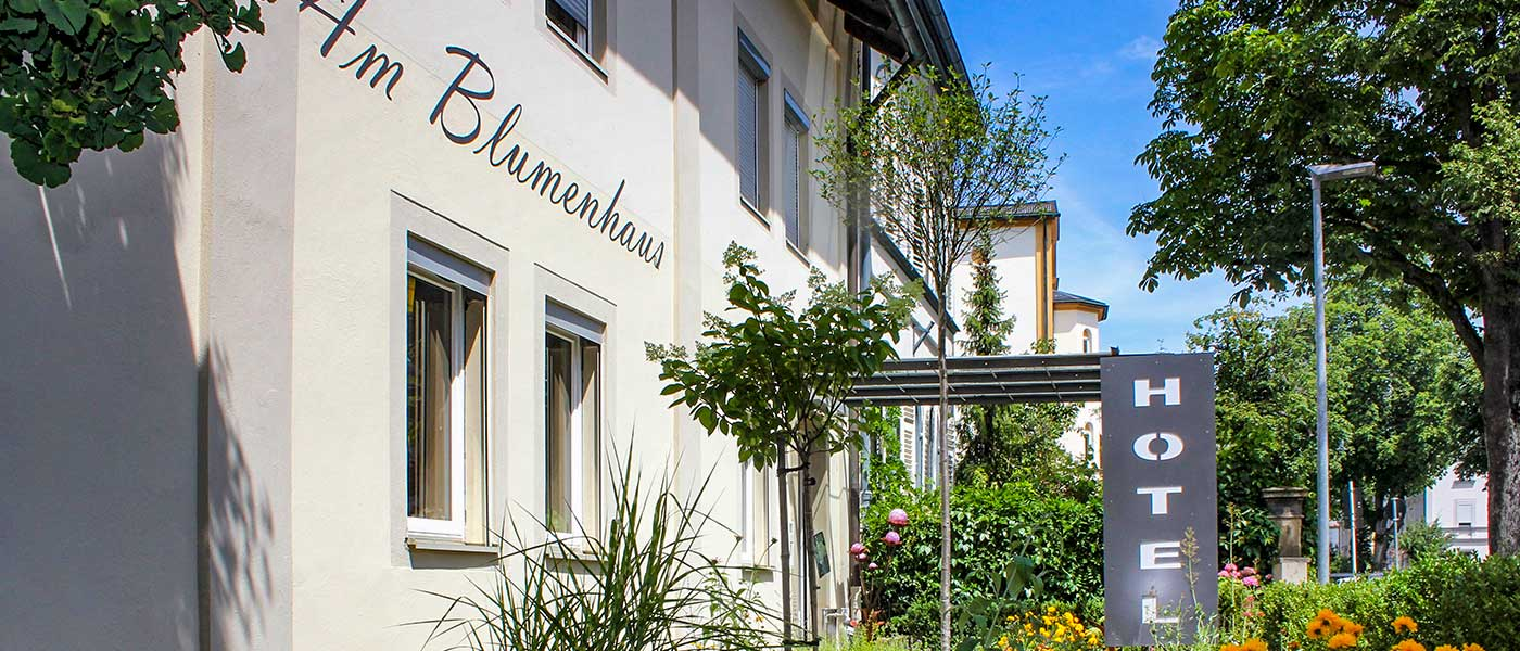 Hotel am Blumenhaus Bamberg Zentrales Stadthotel